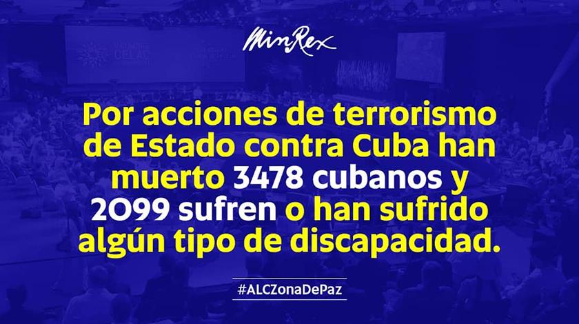 Lamenta Cuba manipulación y oportunismo político sobre el terrorismo | Cuba  Si