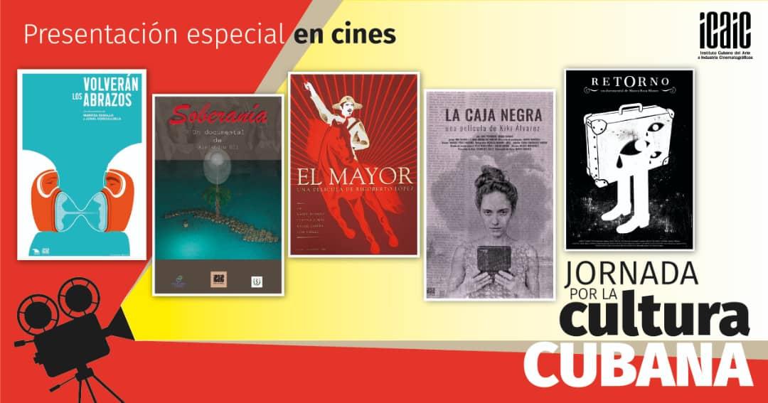 Cinco materiales audiovisuales contempla la muestra homenaje del ICAIC a la jornada de la Cultura Cubana.