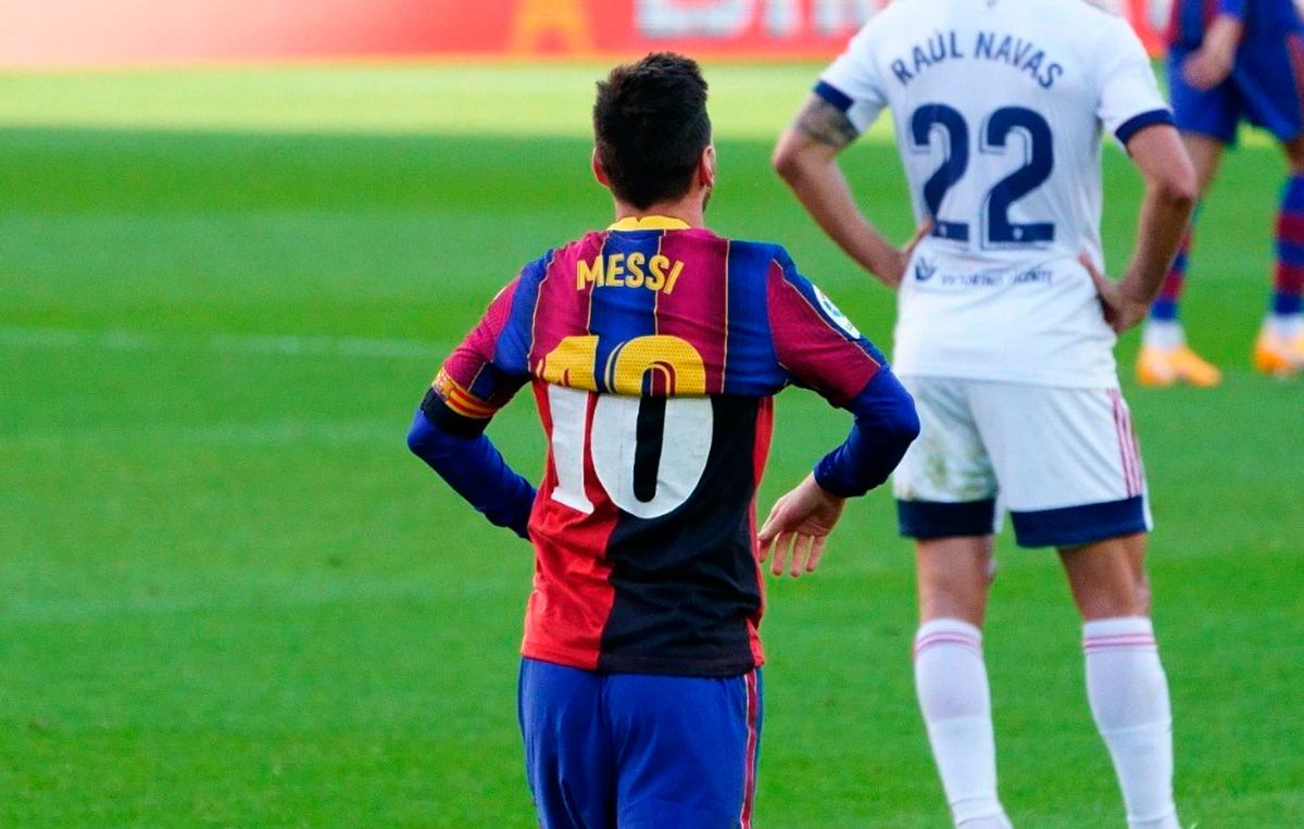 Lionel Messi Sanctioned for Paying Tribute to Maradona ...