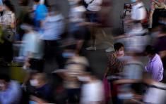 Estados Unidos, Brasil, India y Sudáfrica han reportado los mayores incrementos en el número de nuevos contagios. Foto: Aly Song/Reuters.
