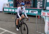 Arlenis persigue otro rendimiento loable en el Tour de Artéche, donde marchaba séptima de la clasificación general y segunda por puntos. Foto: (A.R Monex).