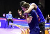 Su compañero de dobles, Jorge Moisés Campos, rompió en llanto junto a Fonseca.