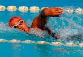 La ondina guantanamera estampó 1:59.76 metros en los 200 libres, como parte del ocntrol de diciembre último.
