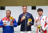 El sabor del podio olímpico, incomparable para Leuris, muy técnico y calmado en la definición.