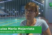 María Luisa Mojarrieta no deja de inyectarle optimismo y rigor a sus pupilos. Foto: tomada de Tele Rebelde.