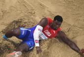 Cristian Nápoles tiene potencialidades para superar la barrera de los 17.40 metros, lo cual lo convertiría en virtual finalista olímpico.