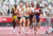 Sólida Rose Mary en las preliminares de los 800 metros. Fiel a su estrategia y con dominio de principio a fin.
