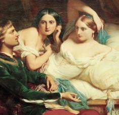 Alejados de la peste, los personajes de El Decamerón narraban historias divertidas y asombrosas.