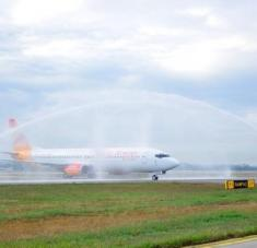 La aerolínea haitiana Sunrise Airways anunció que operará un solo vuelo semanal a Cuba. Foto: Archivo/RHC.