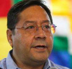 El presidente boliviano Luis Arce