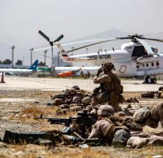 """Anteriormente, las autoridades estadounidenses advirtieron de que es """"muy probable"""" otro atentado terrorista en la capital afgana. Foto: Reuters."""