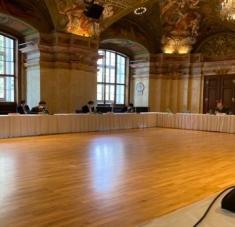 """""""Los participantes del JCPOA señalaron el indiscutible progreso logrado en las conversaciones de Viena"""", dijo Mikhail Ulyanov. Foto: Tomada de @Amb_Ulyanov"""