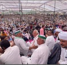 Líderes de los sindicatos del sector agrícola de India afirman que las protestas están lejos de terminar. Foto: Kisan Ekta Morcha