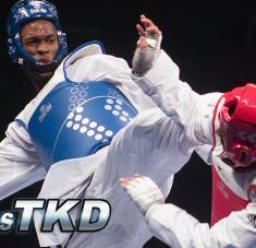El santiaguero tiene en su alcance, uno de sus principales recursos ofensivos. Foto: www.mastaekwondo.com.
