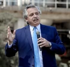 Alberto Fernández puntualizó que, en lo concerniente a la temática vivienda, el problema de cada argentino es también un problema de su Gobierno. Foto: Télam