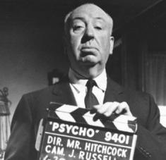 El cineasta británico Alfred Hitchcock murió el 29 de abril de 1980 a los 80 años. Foto: La Tercera