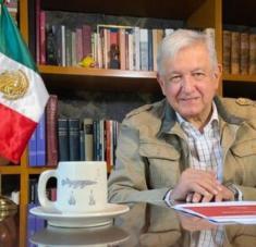 El presidente mexicano informó que el país cuenta con los fondos necesarios para garantizar la vacunación gratuita contra la Covid-19. Foto: @lopezobrador_