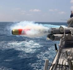 Se trata de la novena maniobra de esta clase de buques estadounidenses en lo que va de año, según datos de las autoridades taiwanesas. Foto: Armada de EE.UU. / John L. Beeman