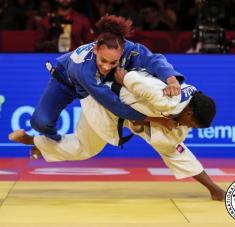 Arnaes Odelín necesita rendir una actuación bien loable para acercarse a zona de clasificación olímpica. Fotos: ijf.org.