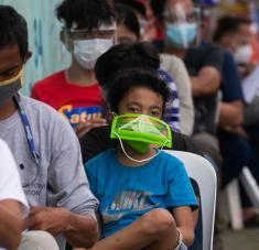 La mutación D614G ha sido detectada recientemente en Malasia, Filipinas y Singapur.  Foto: Reuters.