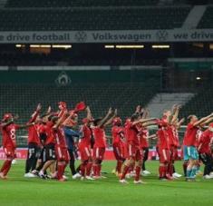 El Bayern Múnich se ha proclamado ganador del campeonato alemán 30 veces en su historia. Foto: @Noticias5ccind1