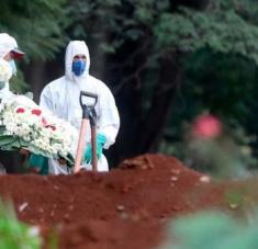 Según la OMS, Brasil es el tercer país con el mayor número de contagiados por el coronavirus, detrás de Estados Unidos y de la India. Foto: EFE