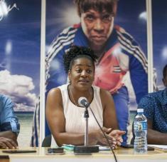 Yipsi le impregna a su tarea como Comisionada Nacional de atletismo, el mismo espíritu que en sus tiempos de martillista estelar en activo.