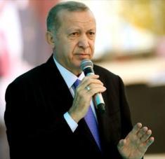 El presidente turco, Recep Tayyip Erdogan, ofrece un discurso en la ciudad de Van, 31 de octubre de 2020. Foto: tccb.gov.tr
