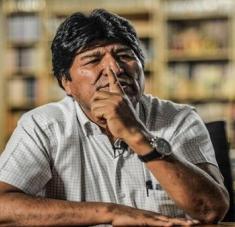 Evo Morales recalcó que estas maniobras se realizan cuando se dan a conocer informes que demuestran el triunfo del MAS-IPSP en las pasadas elecciones de 2019. Foto: Página 12