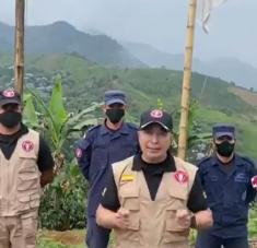 El Ejército de Colombia atribuyó el hecho a hombres armados del autodenominado frente Adán Izquierdo. Foto: Twitter / @COL_EJERCITO