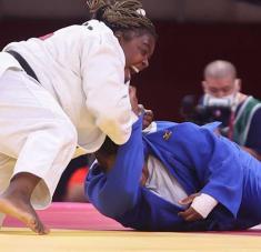 Idalys obtuvo su cuarta presea bajo los cinco aros y se reafirmó como una de las judocas más notables de la historia. Foto: Roberto Morejón, enviado especial.