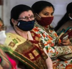 La India superó a Rusia con el mayor número de contagios con coronavirus. Foto: EFE