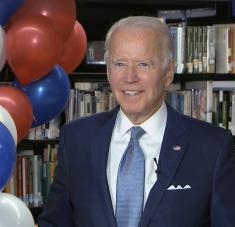 El exvicepresidente de Estados Unidos enfrentará al actual mandatario del país en las próximas elecciones en noviembre de este año. Foto: AP.