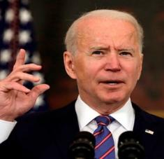Joe Biden calificó de innecesarias y desmedidas las sanciones contra funcionarios de la CPI. Foto: EFE