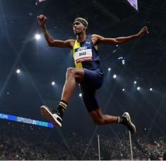 Para colarse en el podio en Tokio Jordan necesitaría casi seguro superar su actual tope personal de 17.49 metros.
