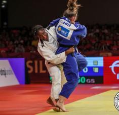 en sus últimas dos temporadas en la arena internacional Kaliema exhibe balance de 32 y 17. Foto: IJF
