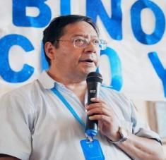 Arce insistió además en la necesidad de activar las fuerzas productivas, así como la vida sanitaria en el país. Foto: @LuchoXBolivia