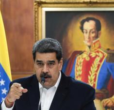 """Según el mandatario, el gobierno de EE.UU. """"subcontrató a Silvercorp USA"""" para """"ver si alcanzaban la hecatombe"""" en Venezuela. Foto: Reuters."""