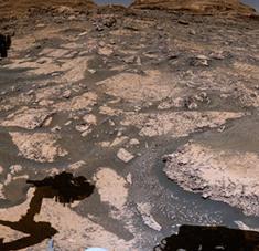 El róver se encuentra actualmente entre una zona rica en minerales arcillosos y una dominada por minerales salados llamados sulfatos. Foto: NASA