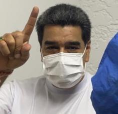 """""""Ya llevamos un 60 por ciento de las vacunas rusas y el lunes arrancamos con las chinas"""", precisó el presidente Maduro."""