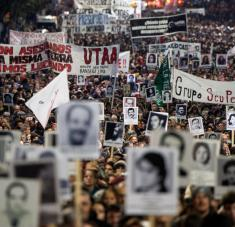 La sentencia recayó sobre militares y jerarcas de Chile y Uruguay, que son acusados de la muerte de ciudadanos italianos.Foto: AFP.