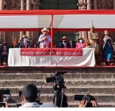 Pedro Castillo ratificó la decisión de impulsar una Asamblea Constituyente en Perú. Foto: @PedroCastilloTe