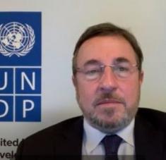 Steiner, administrador del PNUD, valora positivamente la creación de planes de enfrentamiento socioeconómicos a la pandemia. Foto: @ASteiner