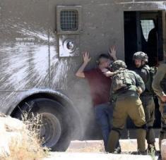 La fuerte represión israelí incluye detenciones arbitrarias y traslado de prisioneros a destinos desconocidos. Foto: @HoyPalestina