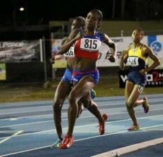Rose Mary Almanza y Sahily Diago protagonizarán una carrera interesante en 800 metros.