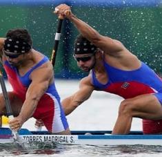Serguey buscará otra presea para sumar a los seis subtítulos mundiales que ostenta la canoa biplaza. Foto: olympics.com