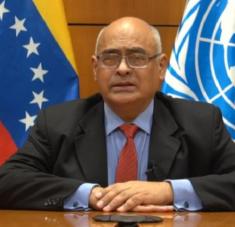 El ministro venezolano enfatizó que las acciones punitivas implementadas por Washington dificultan el acceso a insumos y vacunas para combatir la Covid-19. Foto:mppre.gob.ve