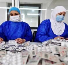 Desde el inicio de la pandemia, China ha enviado insumos médicos y ha compartido sus experiencias con Siria. Foto: Xinhua