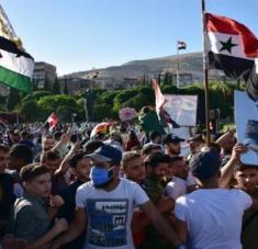 El canciller de Siria, Walid Al-Moallem, expresó que el país continuará el desarrollo económico pese a las sanciones unilaterales de EE.UU. Foto: EFE