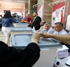 Más de 18 millones de sirios, dentro y fuera del país, están convocados a participar en los comicios que definirán al nuevo jefe de estado del país árabe. Foto: EFE